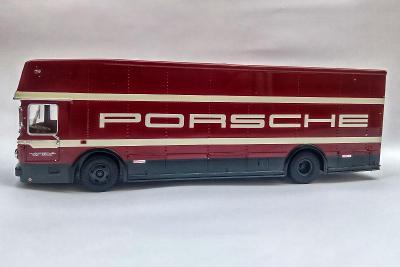 "Premium Classixx 12206 Mercedes Transporter ""Porsche"" Limited 1000 pcs"