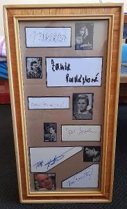 6x autogram- BOHDALOVÁ, PROCHÁZKOVÁ, TOMÁŠOVÁ, SOVÁK, KOSTKA, PŘEUČIL