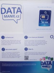 o2 lte sim karta pro mobilni internet 100gb datamanie