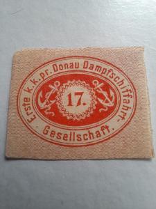 ANK 1866 DDSG 1 střižené hledané  * od korunky!!!!!