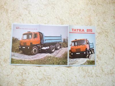 Tatra  815 S 3 - prospekt/propagační materiál