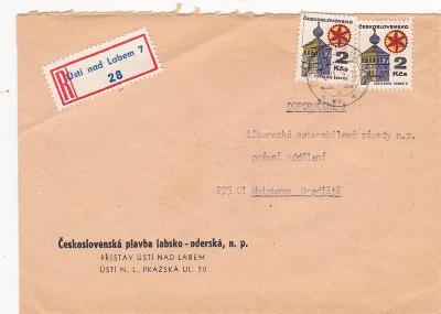 Československá plavba labsko - oderská, přístav Ustí N.L. R