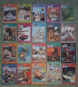 ABC časopisy - ročník 21/ rok 1976-1977- čtěte popis!
