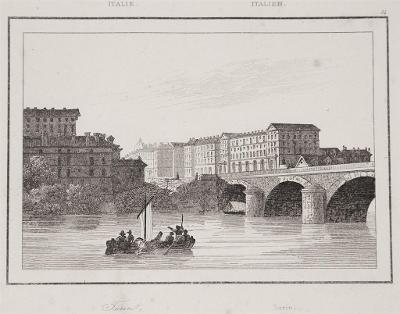 Torino, Le Bas, oceloryt 1840