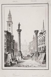 Vicenza, Le Bas, oceloryt 1840