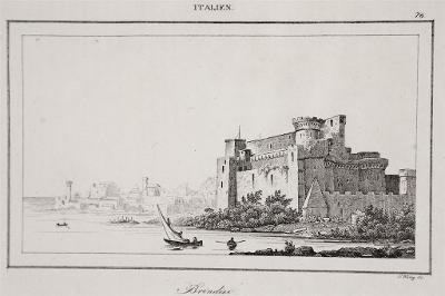 Brindisi, Le Bas, oceloryt 1840
