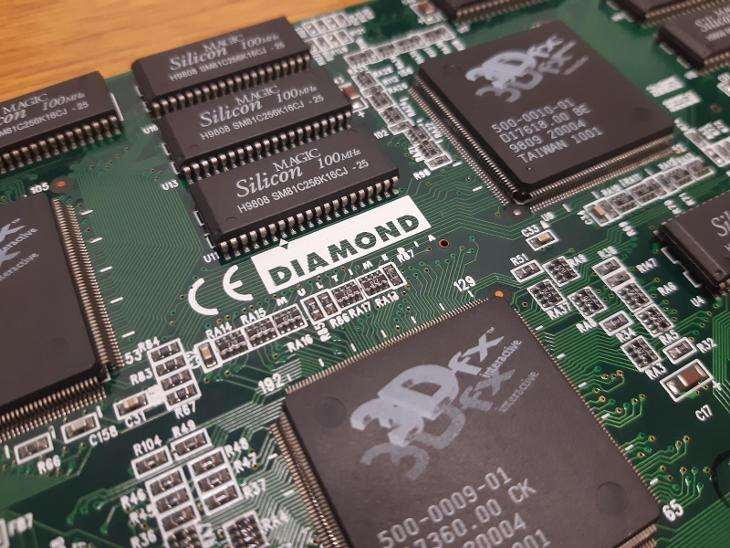 RETRO HW -  Diamond Monster 3D II, 8MB, PCI (3Dfx Voodoo 2, 8MB) - Historické počítače