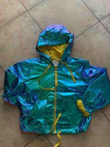 Metalická bunda, vel.14-16 let