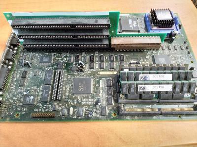 PC MUZEUM - historický set 486 - rozšiřující karta od 1,- Kč!! Čtěte!