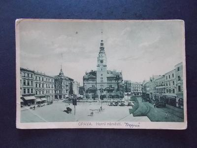 Slezsko Opava Troppau Horní náměstí
