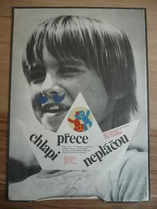 Chlapi přece nepláčou (filmový plakát, film ČSSR 1979