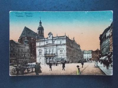Slezsko Opava Troppau divadlo