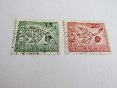Prodávám známky Německo 1965, Europa-Ovoce, Stylizované rostliny