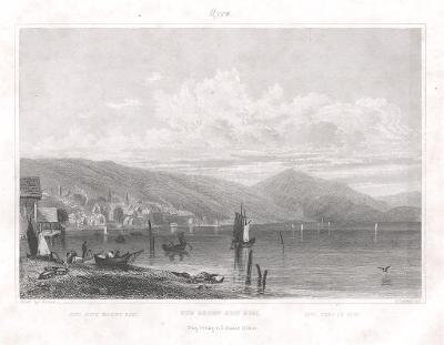 Rigi , Haase, oceloryt 1838
