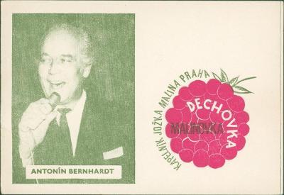 10D3956 Dechovka Malinovka Praha - Antonín Bernhardt