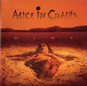 ALICE IN CHAINS -Dirt CD 1992 hard rock , grunge