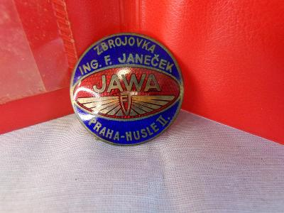 Odznak Jawa - smalt.