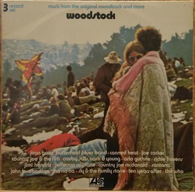 3LP Woodstock Music From The Original Soundtrack, 1970 EX