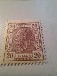 ANK 1906  Císař č 136 **/* hledané  od korunky!!!!!