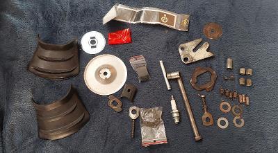 Babetta 210 směska drobných dílů  něco nové něco použité