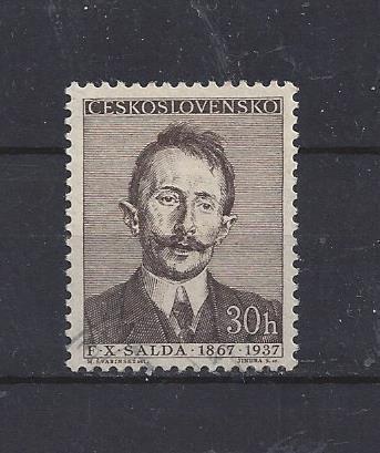 Známky Československa - osobnosti - F. X. Šalda