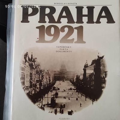 Kniha Praha 1921 Honzík