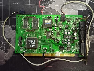 ISA zvuková karta Sound Blaster AWE64 CT4500