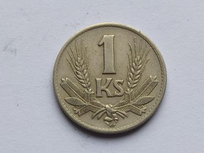 1 ks mince 1 Ks h 1940 sbírkový stav !!!