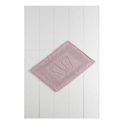 Růžová koupelnová předložka