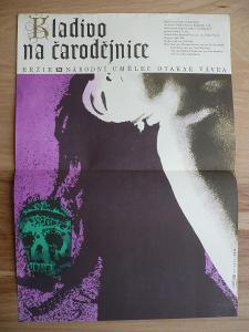 Kladivo na čarodějnice (filmový plakát, film ČSSR 1969