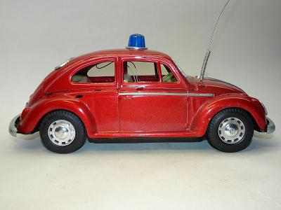 VW Beetle Police 1500 / ModernToys , Japan