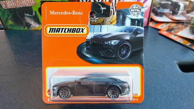 Matchbox Mercedes AMG 63s  černý 2021 NOVINKA