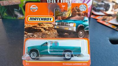 Matchbox nissan harbody pickup 2021 NOVINKA