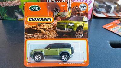 Matchbox Land Rover  Defender 90  2021 NOVINKA