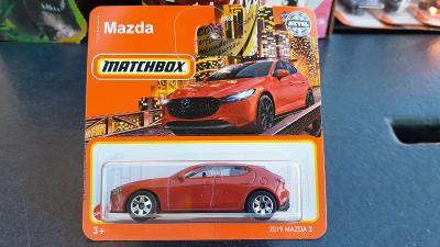Matchbox Mazda 3 2021 NOVINKA
