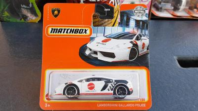 Matchbox Lamborghini Gallardo police 2021 NOVINKA