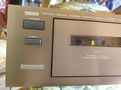 Deck Yamaha kX 650