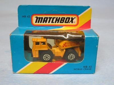 MATCHBOX - MOBILE CRANE