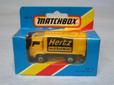 MATCHBOX - DODGE COMMANDO TRUCK - HERTZ