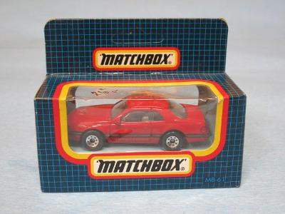 MATCHBOX - FORD T-BIRD TURBO COUPE