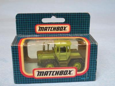 MATCHBOX - MERCEDES BENZ TRACTOR