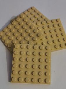 Lego dílky 6x6