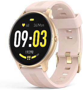 Luxusní dámské chytré hodinky AGPTEK LW11, nádherný velký displej