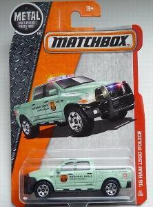 Matchbox-61 `15 Dodge Ram 1500 Police
