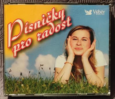 4 CD - Písničky pro radost  (2007) , CD V PĚKNÉM STAVU, JAKO NOVÉ