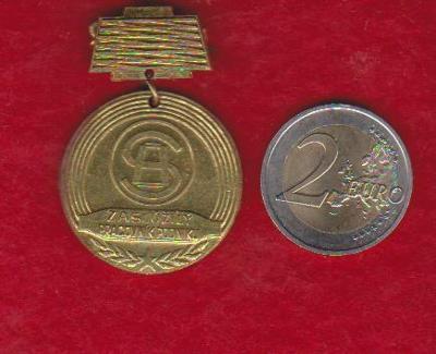 Výpredaj - Medaila - Zaslúžilý pracovník podniku SH Senica !!!