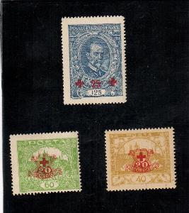 1920 příplatkové Červený kříž