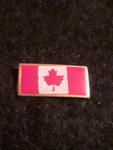 Odznak KANADA - vlajka