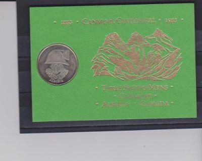 Výpredaj - CANADA - Medaila  v dačekovom balení   !!!