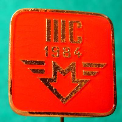 odznak METRO PRAHA IIIC 1984 /19